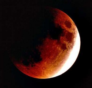 partial lunar eclipse this monday morning starry sky austin