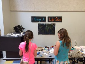 Design a Light Shield Activity